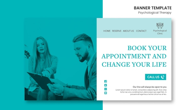 Psychological therapy banner