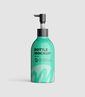 ポンプボトルのモックアップ