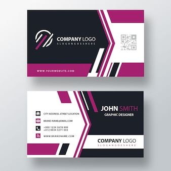 Purple corporate card