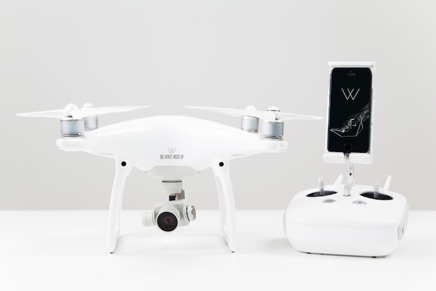 Quadcopter mock-up