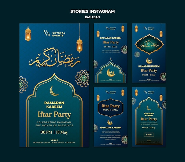 Ramadan event instagram stories template