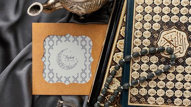 Рамадан макет дизайна рамы