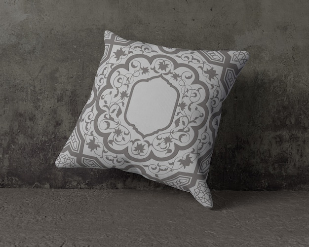 Ramadan pillow with different ornaments