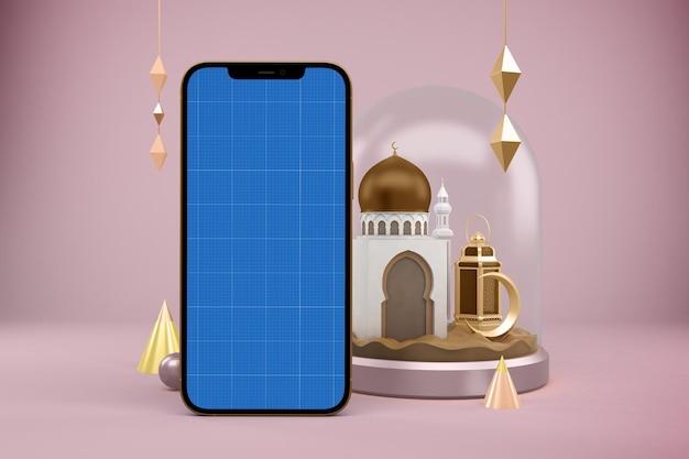Ramadan smart phone mockup