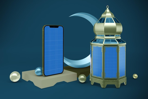 Ramadan smartphone mockup