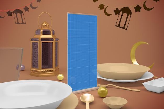 Ramadan standing menu