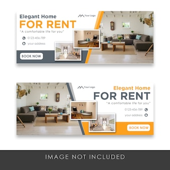 Real estate banner templates