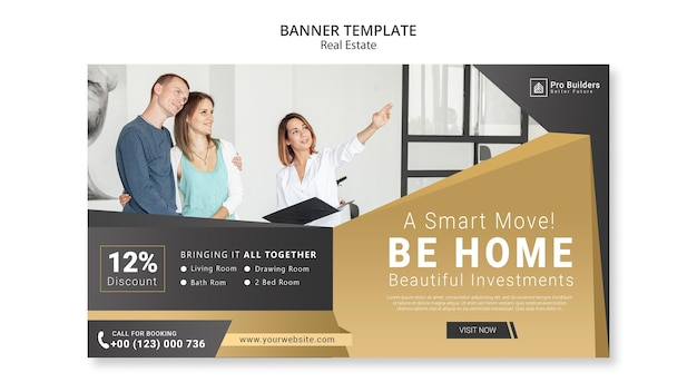 Real estate banner theme