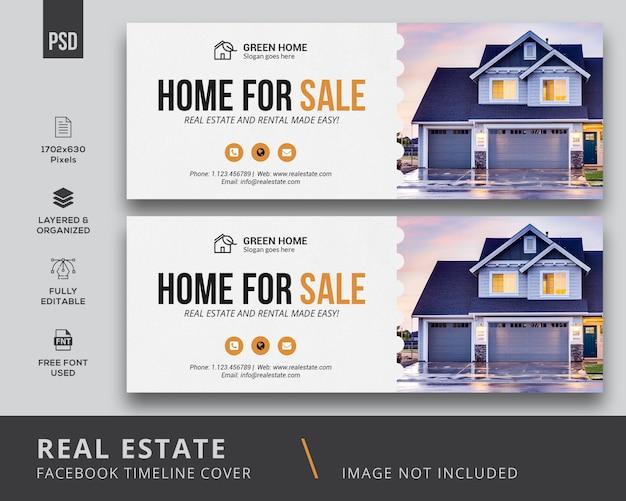 Real estate facebook cover