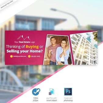 Real Estate Facebook Timeline Cover Banner
