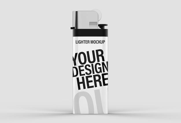 Реалистичная 3d зажигалка mocku для презентаций