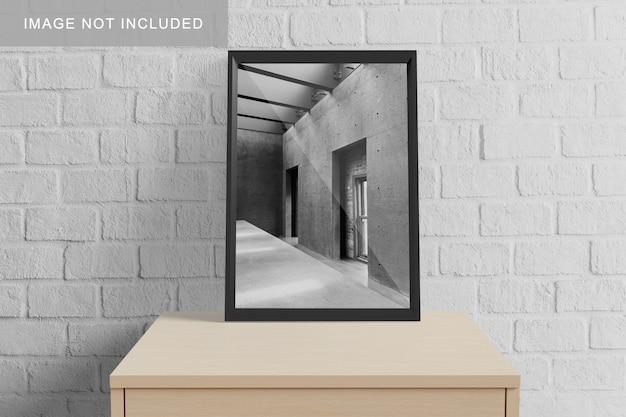 Реалистичный макет a3 frame
