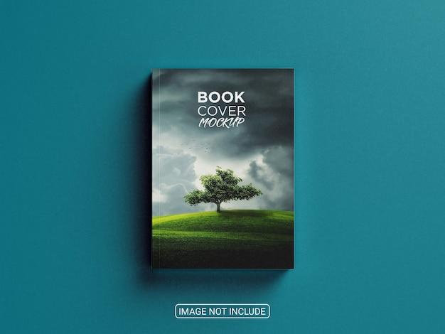 Realistic amazing book cover mockup