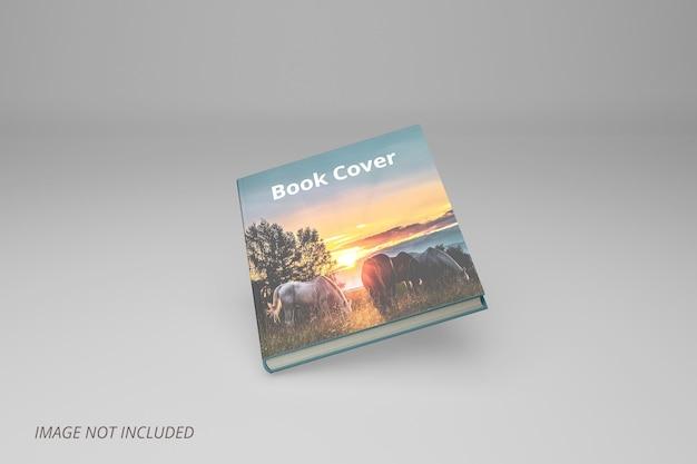 Реалистичный дизайн макета обложки книги premium psd
