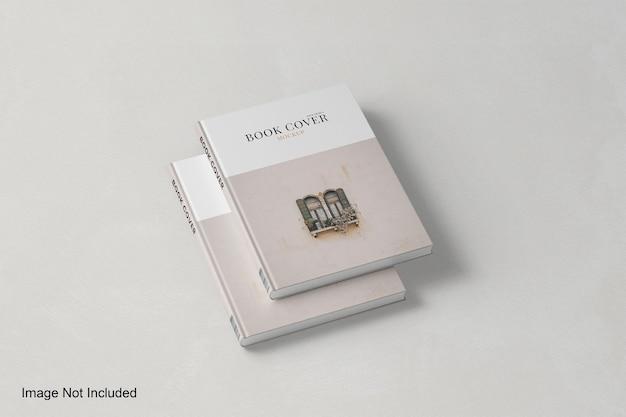 Реалистичный дизайн макета обложки книги