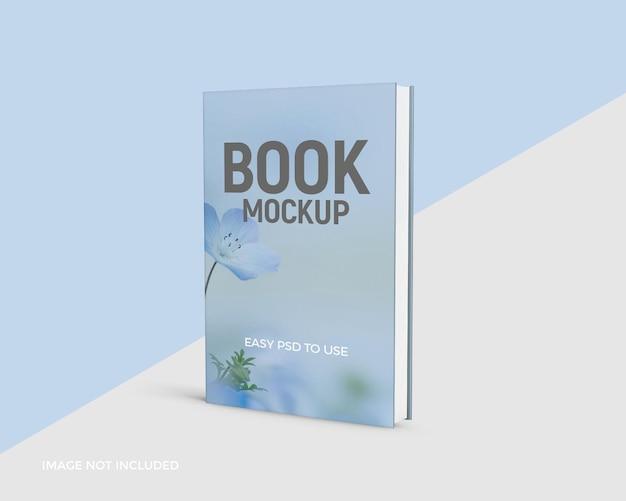 현실적인 책 표지 모형 디자인