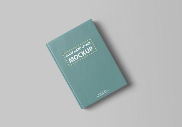 현실적인 책 양장본 모형 디자인