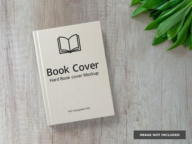 현실적인 책 양장본 모형