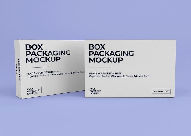 고립 된 현실적인 상자 이랑 디자인