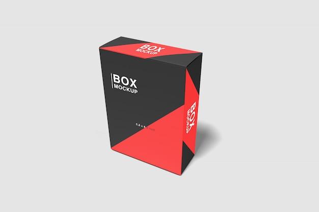 Realistic box mockup
