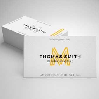 Business card mockup psd file free download realistic business card mockup reheart Choice Image