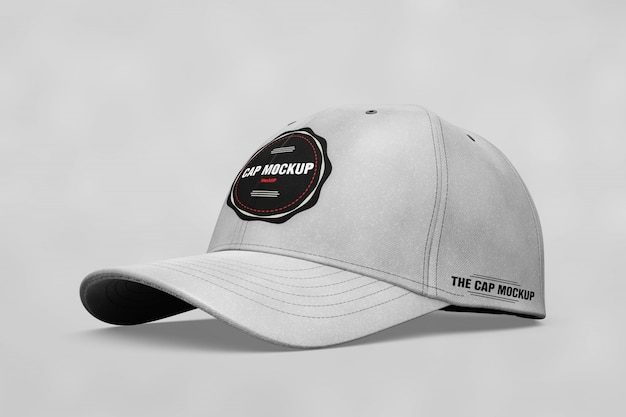 Realistic cap mock up