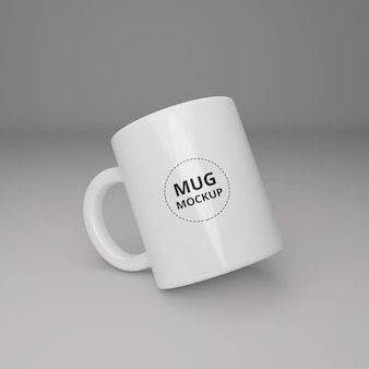 Реалистичный макет кофейной чашки premium psd