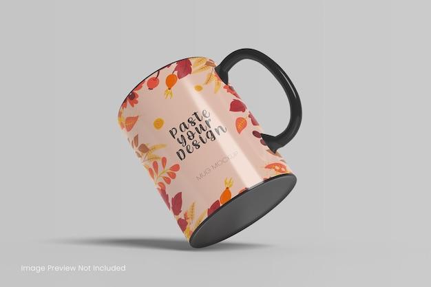 현실적인 커피잔 모형