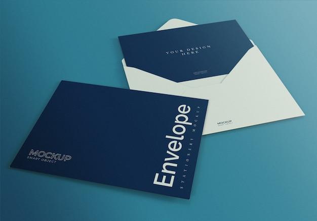 Realistic envelope mockup