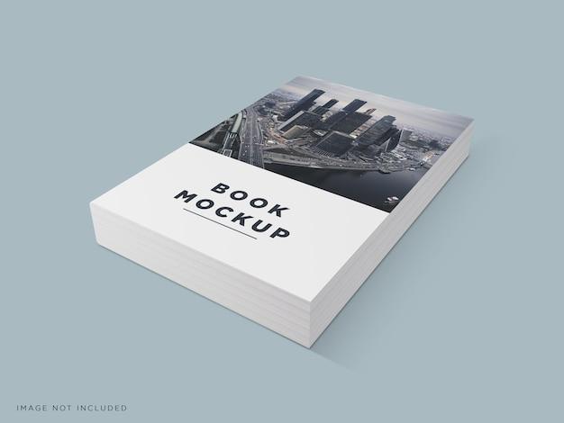 Реалистичный макет обложки книги