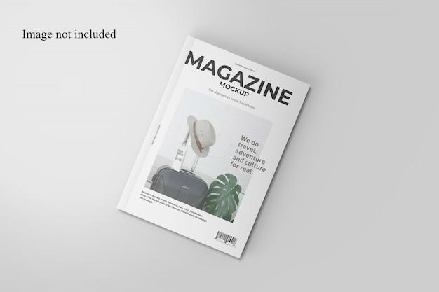Реалистичный журнал макет