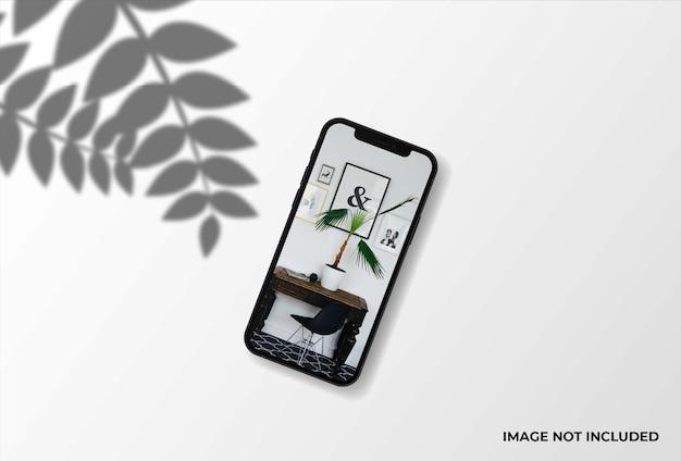 현실적인 휴대 전화 모형 디자인