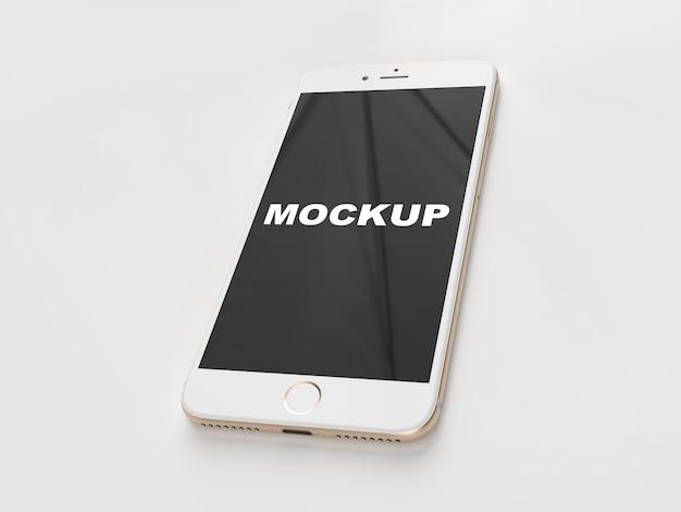 Realistic mobile phone presentation