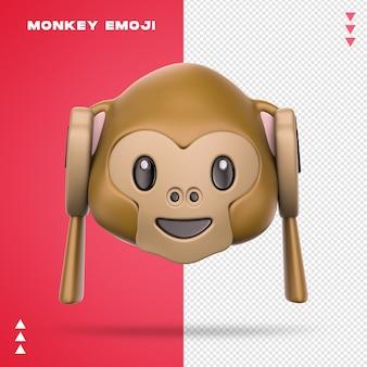 사실적인 원숭이 이모티콘