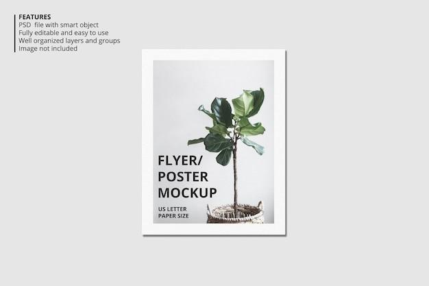 Реалистичный дизайн макета брошюры или листовки