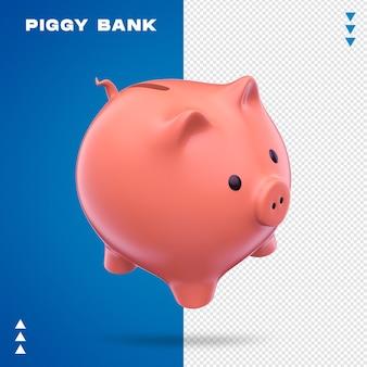 Realistic piggy bank