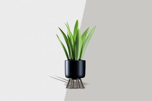 3dレンダリングでのリアルな植物