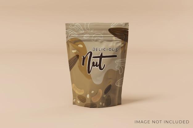 Реалистичный дизайн макета упаковки продукта, вид спереди