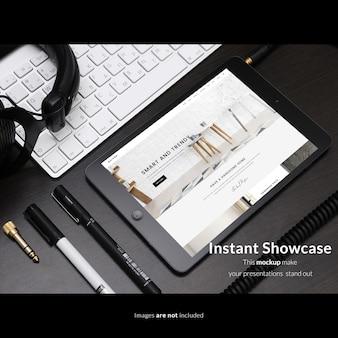Реалистичный макет экрана