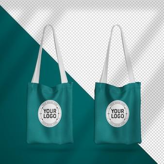 Набор реалистичных сумок для покупок