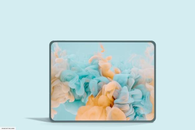 Realistic smart tablet mockup