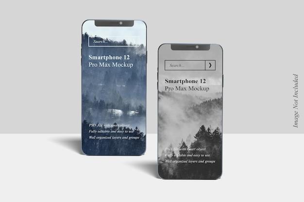 Реалистичный макет смартфона 12 pro max