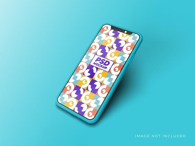Realistic smartphone mockup