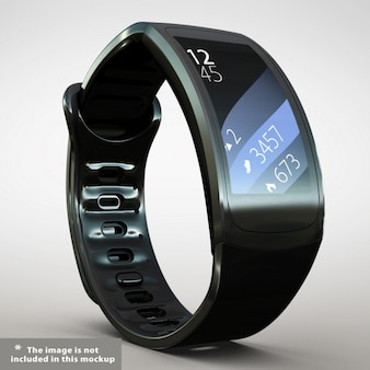 Realistic smartwatch presentation