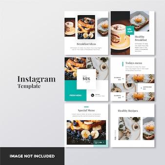 Recipes healthy instagram post banner