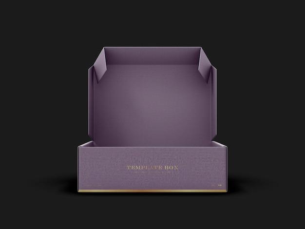 Rectangular box mockup