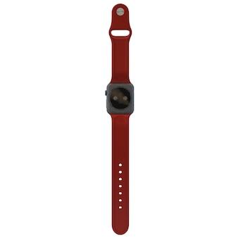 빨간 시계 모형