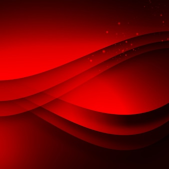Red wavy background
