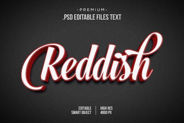 Reddish editable text effect, abstract digital technology modern alphabet fonts, speed automotive racing sports text