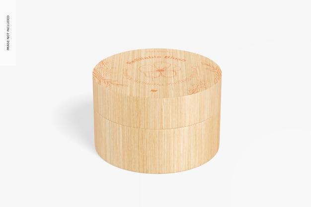 Мокап для многоразового использования румян, вид спереди